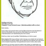 Herdenken en vieren: lezing van Steve Austen op 5 mei 2013 in Felix Meritis