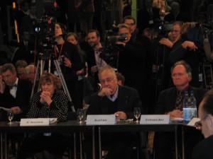 Steve Austen & Hedy d'Ancona, Berliner Konferenz, 2004